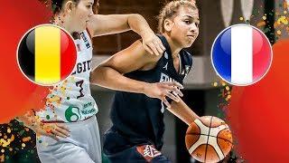 Belgium v France - Full Game - FIBA U16 Women