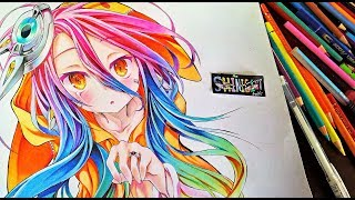 Drawing - Schwi Dola (シュヴィ・ドーラ)No Game, No Life the Movie: Zero