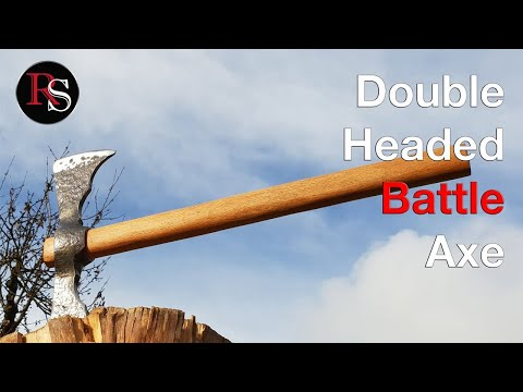 How To Make A Double Headed Battle Axe