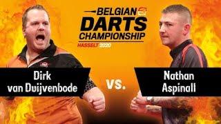 Belgian Darts Championship 2020 - Quarter Final - Dirk Van Duijvenbode Vs. Nathan Aspinall