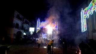 preview picture of video 'festa san Biagio fuochi Terracciano'