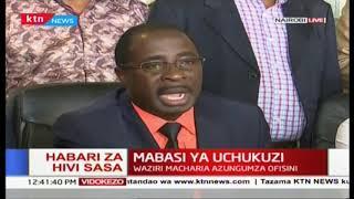 Waziri Macharia azungumza kuhusu mabasi ya uchukuzi jijini Nairobi