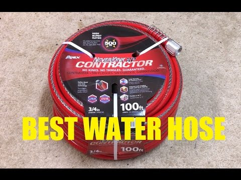 Neverkink XP Contractor Hose Review: BEST WATER HOSE!