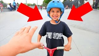 MIND-BLOWING 6 YEAR OLD SCOOTER KID!
