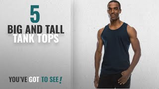 Top 10 Big And Tall Tank Tops [Winter 2018 ]: JC DISTRO Mens Hipster Hip Hop Basic Casual Solid