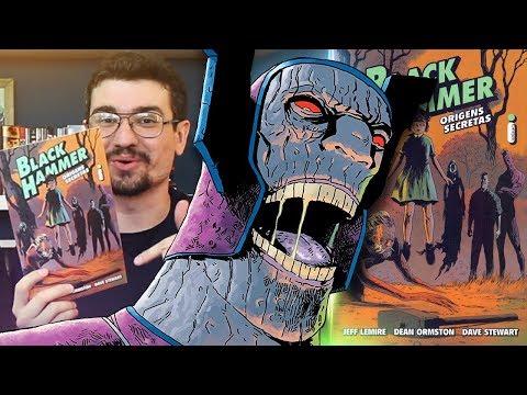 Super-heróis como você nunca viu: BLACK HAMMER, de Jeff Lemire | Pipoca e Nanquim #301