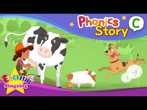 Phonics Story C - English Story - Educational video for Kids