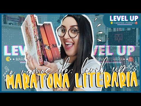 MARATONA LITERÁRIA: LEVEL UP | APRESENTAÇÃO, DESAFIOS, SORTEIOS, LIVES E TBR | por Carol Sant