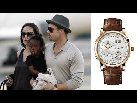 Brad Pitt's Watch Collection of Cartier, Rolex & Patek | COLLECTION REVIEW