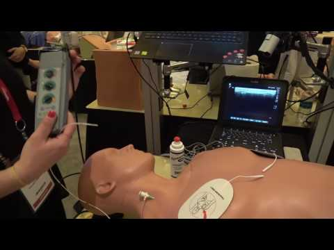 Simulab Launches World's First Transvenous Pacing Simulator | IMSH 2017 Video Interview