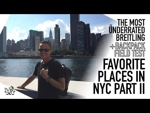 NYC Field Test – Breitling's Most Underrated Watch & The Best Men's Backpack – C3-1 Review