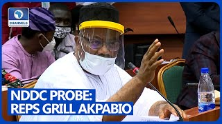 Reps Grill Niger Delta Minister, Godswill Akpabio Over NDDC