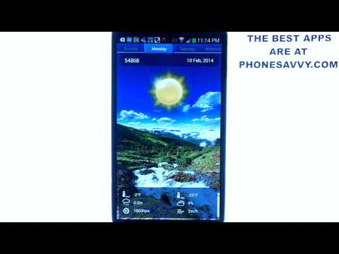 Swipe Weather – Android App Review – Excellent Weather App for Android