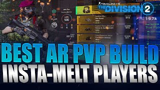 The Division 2 - BEST AR PvP Build Guide | High DPS Melt Players