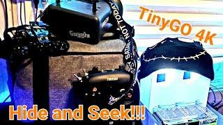 GepRC TinyGO 4k FPV Hide and seek!!!