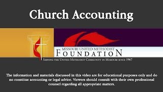 MUMF Presents: Church Office Practices: Church Accounting