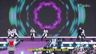 (Sub español) EXO K - Thunder LIVE HD