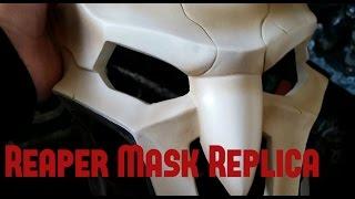 Overwatch Reaper Mask Replica Unboxing
