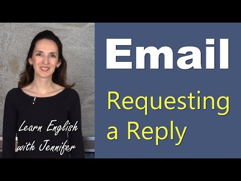 How to Request an Email Reply