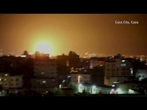 Palestinian rocket attack draws Israeli strike