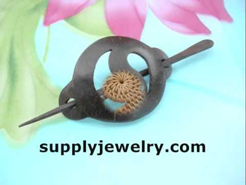 wholesale hairpins organic hair accessories fashion jewelry Supplyjewelry.com