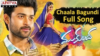 Chaala Bagundi Full Song II Mukunda Movie II Varun Tej, Pooja Hegde