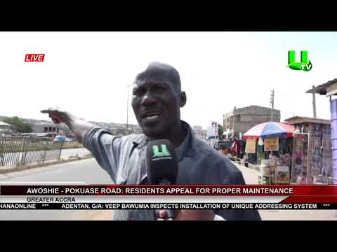Awoshie-Pokuase Road: Residents Appeal For Proper Maintenance