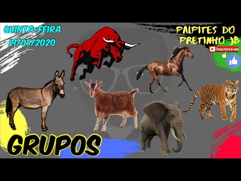 PALPITES JOGO DO BICHO 21/05/2020 PRETINHO JB