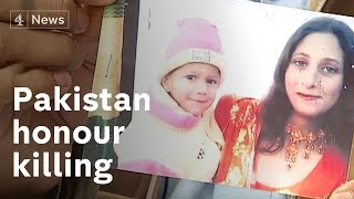 Pakistan honour killing: warning - shocking content