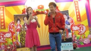 preview picture of video '钟盛忠&钟晓玉 《最懂我的人》in kluang mall 20140119'