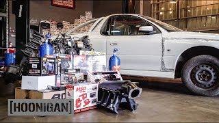 [HOONIGAN] DT 092: Secret Project Car Reveal - Forza Holden Ute V8 on NOS