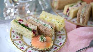 How To Make Tea Sandwiches