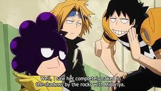 Mineta,Kaminari and Ochako jealous - Boku no hero academia - Funny moment