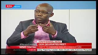 News Centre: ODM delegates meet - Part Two [05/05/2017]