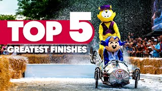 Top 5 Most Spectacular Soapbox Finishes 😍 | Red Bull Soapbox Race