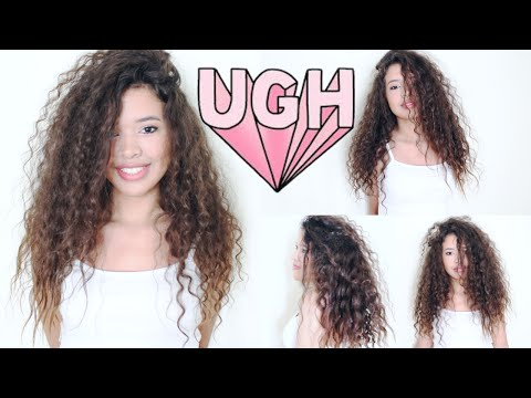 Video Curly Hair Care Routine 2015