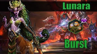 Heroes of the Storm 2.0 (Gameplay) Lunara Burst Build (Hots Lunara Gameplay Quickmatch)