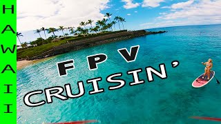 Drone ❌cursion - Cruisin' My FPV Drone Over Water in Hawaii ????