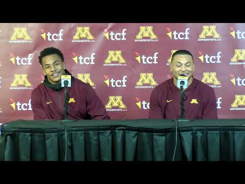 Press Conference: Chris Williamson & Antoine Winfield Jr. on Gophers' 52-10 Win vs. Maryland