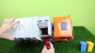 Bruder Müllwagen 02761 (Seitenlader)