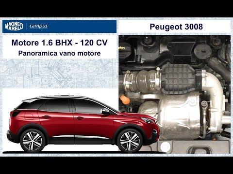 1 Peugeot 3008 VIDEO Panoramica vano motore