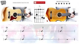 LOST FREQUENCIES Feat. JAMES BLUNT   MELODY   UNPLUGGED  Guitar Lesson | How To Play On Guitar