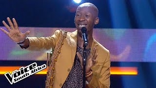 Sabelo Mthembu – 'Waiting On The World To Change' | KnockOuts | The Voice SA | M-Net