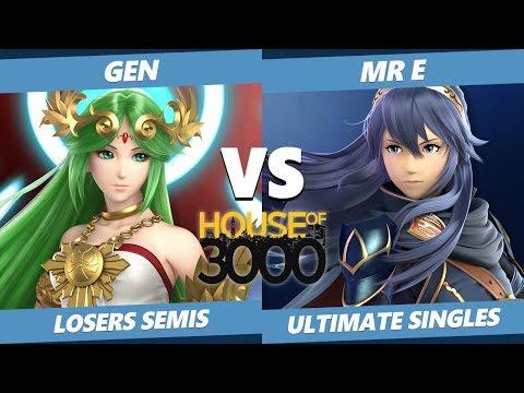 Smash Ultimate Tournament - Gen (Palutena) Vs. Mr E (Lucina) SSBU Xeno 189 Losers Semis