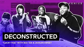 """The Making Of Eminem's """"Lucky You"""" With Boi 1da & Jahaan Sweet 
