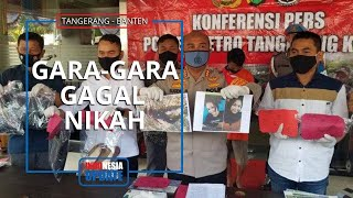 Trauma Pernah Gagal Nikah, Pria di Tangerang Bunuh Pacarnya setelah Pergoki Chat Mesra di HP Korban
