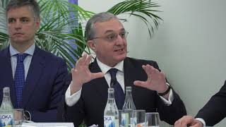 """Remarks and answers to questions by Armenia's Foreign Minister and Eastern Partnership 10th anniversary Ministerial meeting on """"A new political vision for EaP"""""""