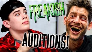 FREAKISH AUDITIONS WITH HAYES GRIER!