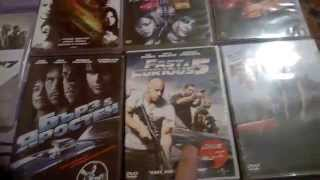 My Completed Fast and Furious DVD Collection