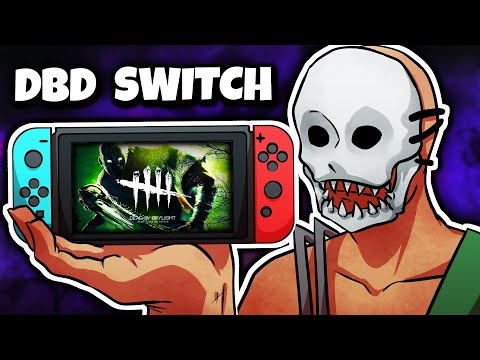 DBD ON THE NINTENDO SWITCH IS HILARIOUS! | Dead by Daylight Switch Gameplay